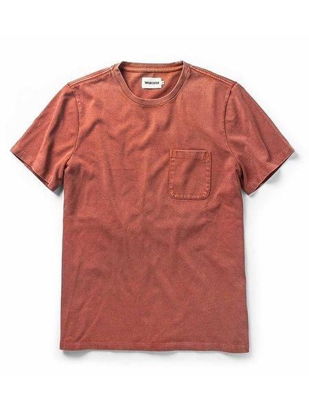 Taylor Stitch Heavy Bag Tee - Dusty Clay