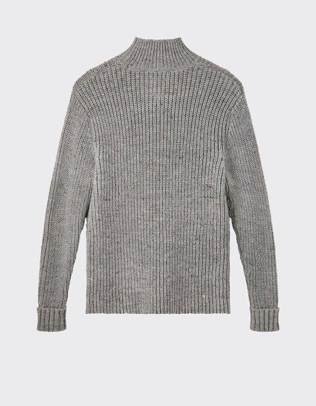 Minimum Bille Turtleneck - Light Grey Melange