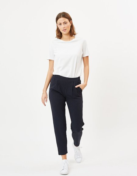 Minimum Sofja Pant - Navy Blazer