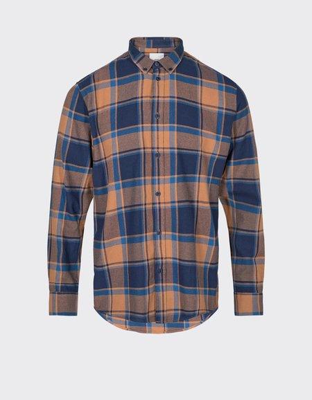 Minimum Walther Shirt - Dark Indigo Blue