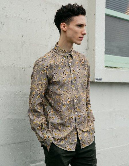 Portuguese Flannel Lobo Long Sleeve Shirt - Abstract