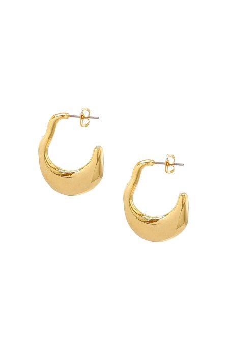 Mod + Jo Sophie Statement Earrings - Gold