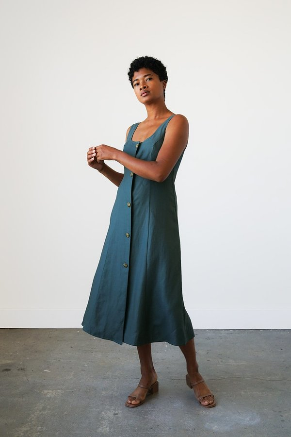Waltz Terrazza Dress - Spruce