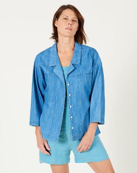 Ilana Kohn Mapes Shirt - Faded Denim