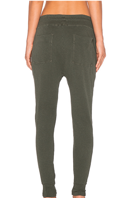 James Perse Slouchy Sweat Pant - Olive