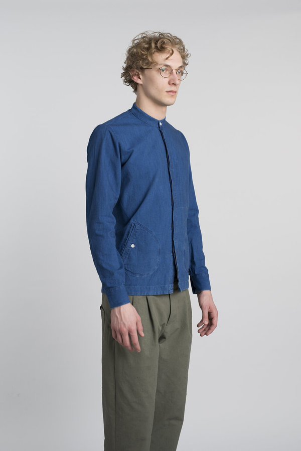 Delikatessen Confident Over Shirt - Rich Indigo