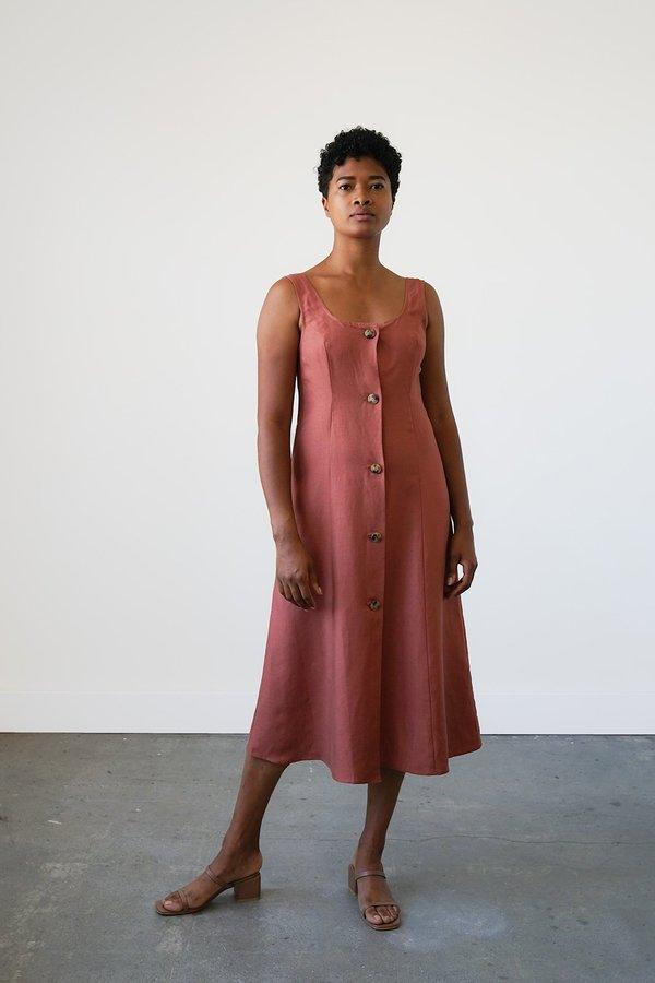 Waltz Terrazza Dress - Cinnamon