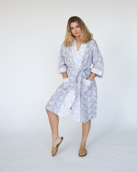 RUJUTA SHETH Block Print Robe
