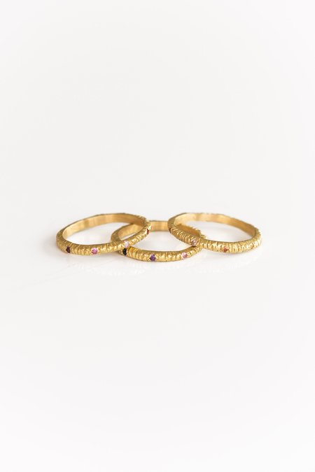 Page Sargisson 18kt Chakra Sapphire Ring