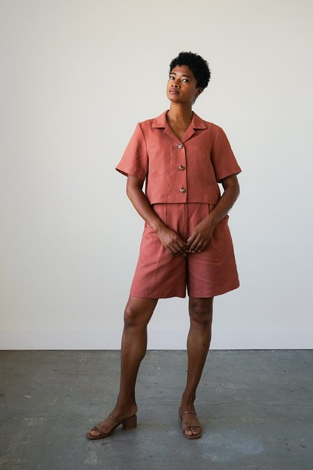 Waltz Lido Shorts - Cinnamon