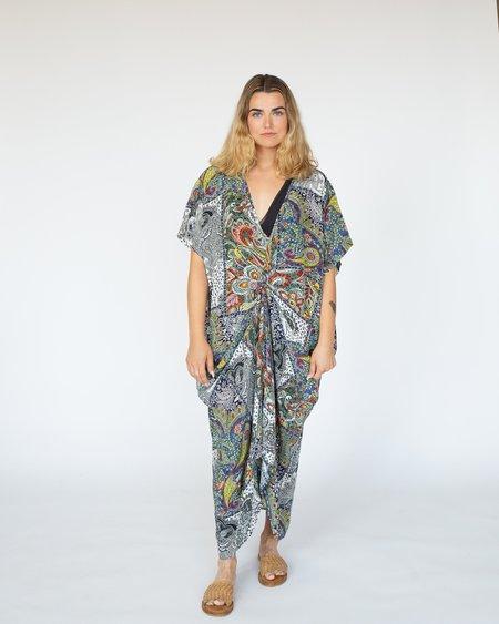 RUJUTA SHETH Patch Print Kaftan Dress