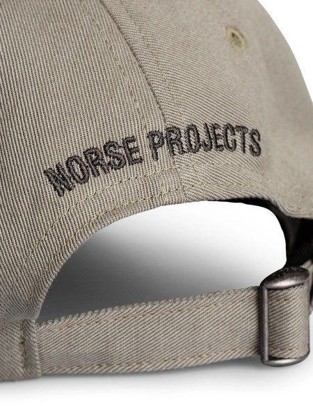 Norse Projects Twill Sports Cap - Washed Kelp