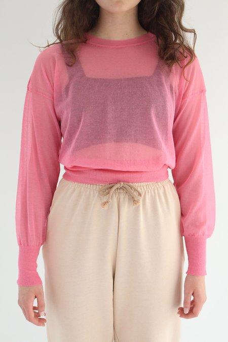 Paloma Wool Leds Pullover Top - Light Fuchsia