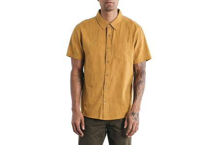 Bridge & Burn Harbor Button Down - Goldenrod/Multi