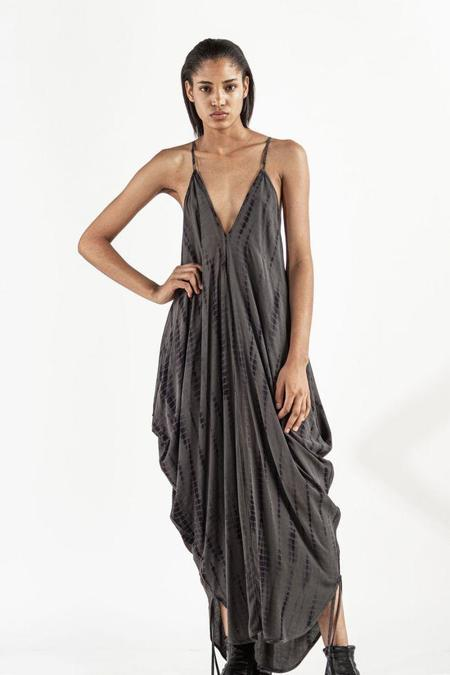 Nicholas K Malin Dress - Graphite/Black