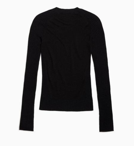 Rag & Bone Cadee Crew Sweater - Black
