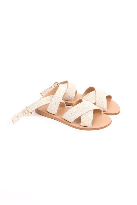KYMA Patmos Sandals - Natural/Beige Cotton
