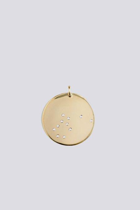 Trine Tuxen Mini Aquarius Pendant - Gold