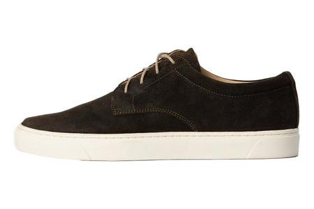 Nisolo Diego Low Top Sneaker - Dark Olive