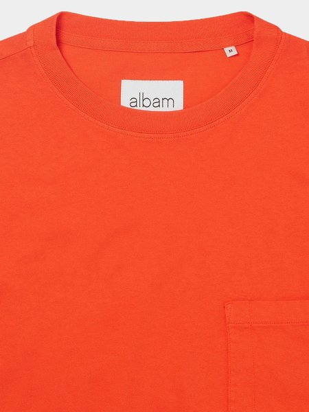 Albam Workwear Short Sleeve Tee - Red