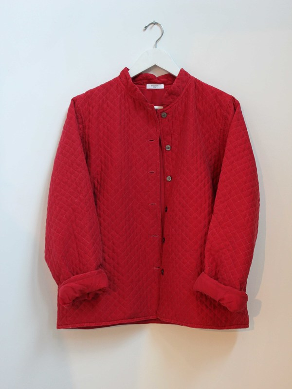Hey Jude Vintage Silk Quilted Jacket