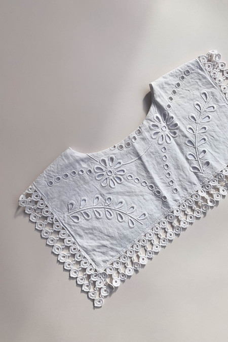 WOLF & GYPSY VINTAGE Handmade Square Cotton Collar