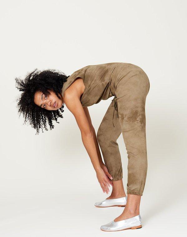 Raquel Allegra Jumpsuit - Army Tie Dye