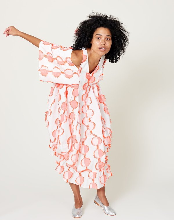 Henrik Vibskov Squid Dress - Cream Moon