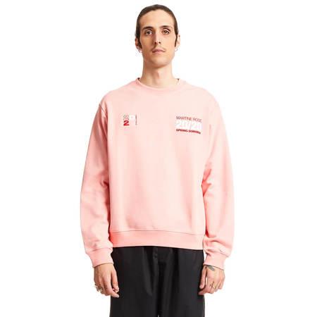 MARTINE ROSE Classic sweatshirt - Pink