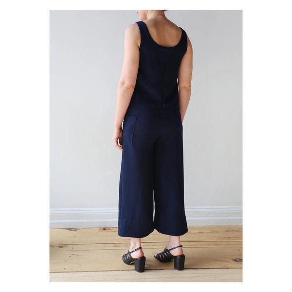 NOMIA Wide Leg Jumpsuit - Navy