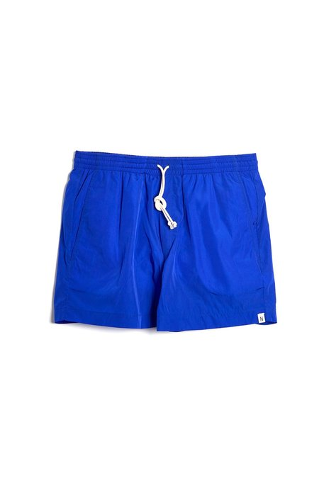 Neumühle Net Shorts - Blue