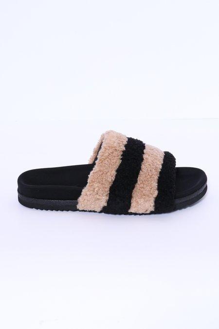 Roam Prism Slippers - Beige/Black