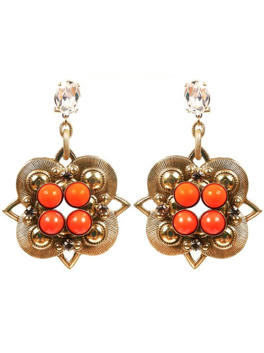 Anton Heunis Four Point Baroque earrings