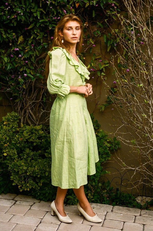 Kristinit Viridescent Chiara Top - Green