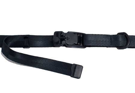 nakamuraya Custom Made Fidlock Buckle Mil Spec Nylon Belt - Black