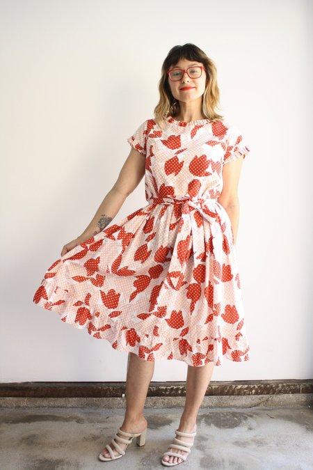 Cete Hazel Dress - Polka Dot Tulip