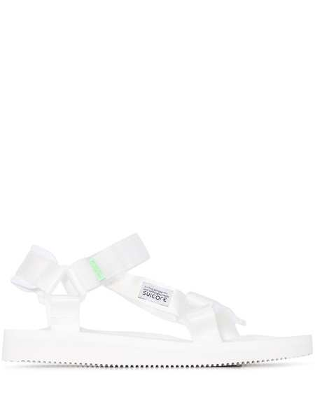 SUICOKE DEPA-Cab Sandals - White