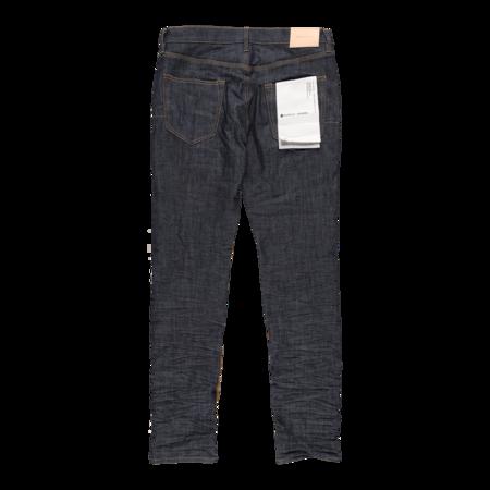 Purple Brand Reverse Inseam Low Rise Slim Jeans - Raw Indigo