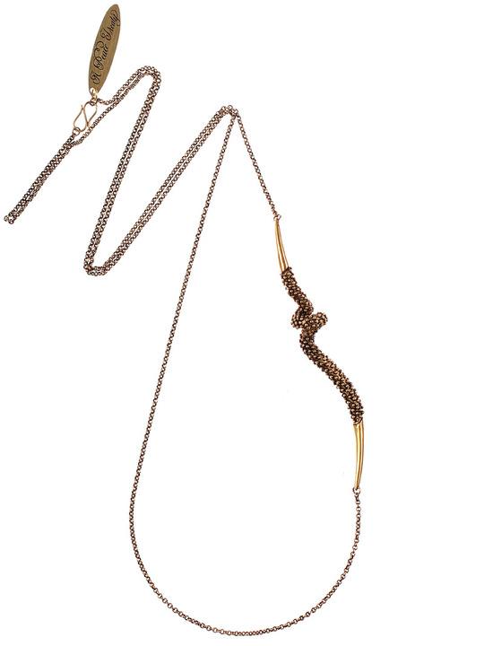 A Peace Treaty Kufra Gold necklace