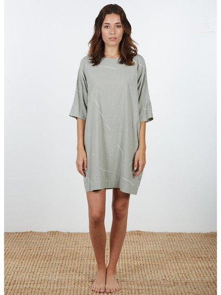 Uzi NYC Now Dress - Stone Beams