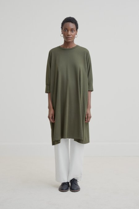 Kowtow Oversized Boxy Dress - Dark Green