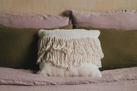 Morrow Soft Goods Santino Throw Pillow - NATURAL