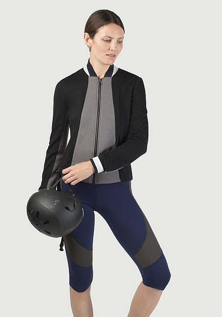 VPL Capulet Zip Jacket: Charcoal