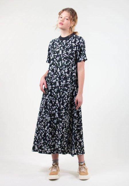Kowtow Building Block T-Shirt Swing Dress - meadow print