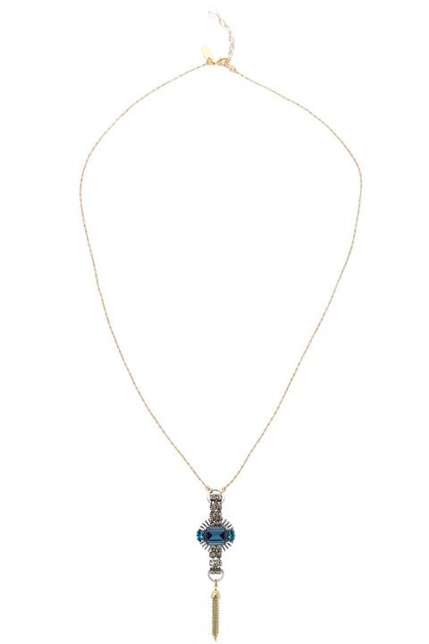 Anton Heunis Strass Pendant necklace
