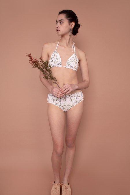 Meadows Woven Bikini Briefs - English Stems
