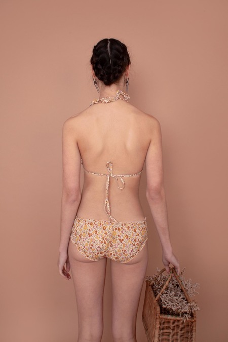 Meadows Woven Bikini Briefs - Vintage Country Floral