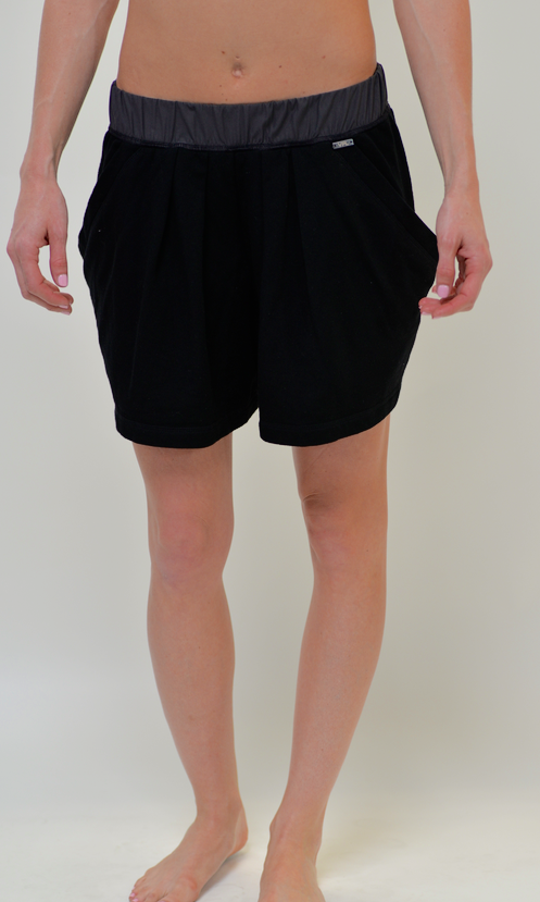 Deflection Shorts: Black