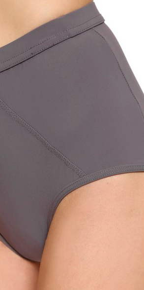 VPL Eclipse Swim Bottom: Eggplant