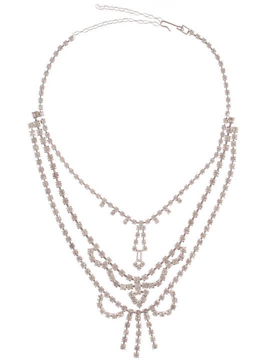 Love Obsessed Triple Tier Deco necklace